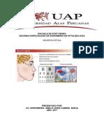 CASO CLINICO - NEURITIS OPTICA