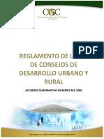 Reglamento de la Ley de los Consejos de Desarrollo Urbano y Rural.pdf