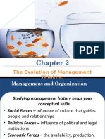 Chap 2, The Evolution of Management Thinking