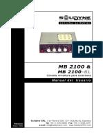 MANUAL MIXER POTATIL SOLEDYNE - MB2100 - ver2009
