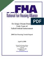 2008 Fair Housing Trends Report