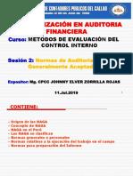 NAGA normas de auditoria (derogadas)