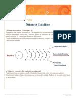 QuimicaNÚMEROS CUÁNTICOS