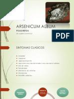 ARSENICUM ALBUM homeopatia