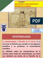 CIENCIA CONCEPTO CLASIFICACIÓN CARACTERÍSTICAS Y FUNCIONES