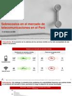 Sobrecostos en Telecomunicaciones en Perú - Apoyo