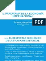 PANORAMA DE LA ECONOMÍA INTERNACIONAL
