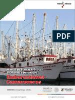 Manual de buenas prácticas de manejo a bordp de embarcaciones camaroneras