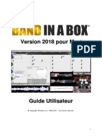 Band-In-A-Box 2018 Mac Manual en Français