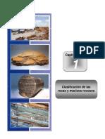Capitulo 1 Clasificación de las rocas y macizos rocosos
