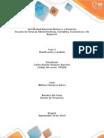 Fase 2 - Planificacion y Analisis - Diseño de Proyectos - Carlos Vasquez