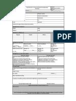 FR-GF-08 Formato de creación de proveedores