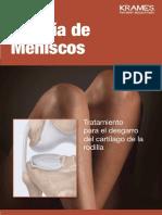 operacion de menisco folleto