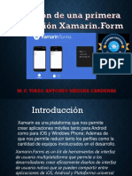 primera aplicacion Xamarin