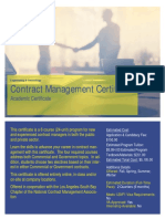 Contract Management Certificate