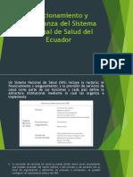 Funcionamiento y gobernanza del Sistema Nacional de Salud del Ecuador