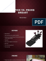 supine vs prone breast case presentation
