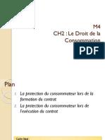 M4 M2 droit de la consommation maroc