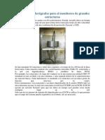 Sistema de Acelerógrafos Para El Monitoreo de Grandes Estructuras