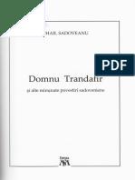 Domnu Trandafir si alte povestiri - Mihail Sadoveanu.pdf