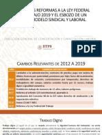 Principales Reformas a la Ley Federal del Trabajo (México)