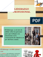 LIDERAZGO DEL PROFESIONAL