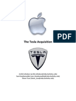 The Tesla Acquisition - Pitchbook