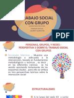 TRABAJO SOCIAL CON GRUPO