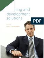 Training & Development Solutions_People's Development 2010