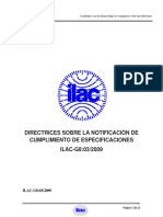 ILAC-G8 03-2009