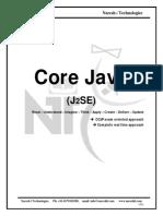 CORE JAVA COMPLETE NOTES - J2SE, OCJP