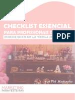 ChecklistEssencial