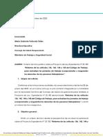 Criterio Técnico del Consejo de Salud Ocupacional sobre modificación de jornada laboral a 4x3