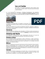 Centroamérica y El Caribe