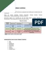 MANUAL DE CREMAS CASERAS