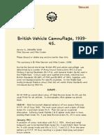 Camuflagem de veículos britânicos 1939_1945