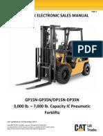 Caterpillar Forklift GP35N IC Pneumatic Trucks Electronic Sales Manual.pdf