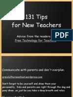 Best Advice for New Teachers