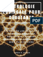 ASTROLOGIE ZODIACALE POUR DEBUT - Jorge O. Chiesa