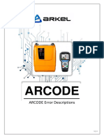 ARCODE Error Descriptions V20.en