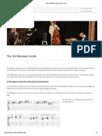 The 3rd Messiaen mode - Jens Larsen