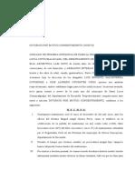 DEMANDA CLÍNICA CIVIL II (DIVORCIO DE MUTUO CONSENTIMIENTO -VOLUNTARIO-)
