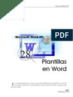 Como Crear Plantillas En Word Xp