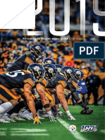 2019 PITTSBURGH STEELERS MEDIA GUIDE 87TH SEASON