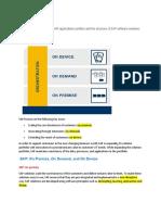 SAP software solution