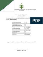 Resumen de Mecanografía 2019 DIARIO