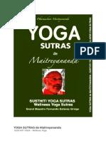 YOGA SUTRAS de Maitreyananda Italiano