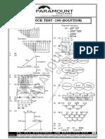 SSC MOCK TEST -190 (SOLUTION)