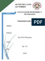 Termodinámica de las soluciones II