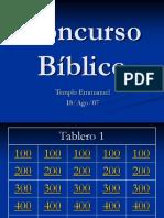 Concurso Bíblico I.ppt